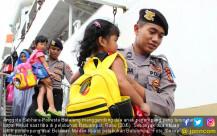 Arus Balik di Pelabuhan Batuampar - JPNN.COM