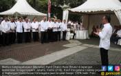 Menaker Halal Bihalal Bersama Para PNS - JPNN.COM