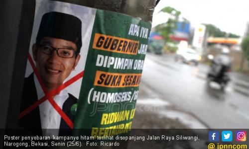 Ridwan Kamil Diserang Kampanye Hitam