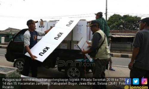 Pendistribusian Logistik Pilkada Serentak 2018