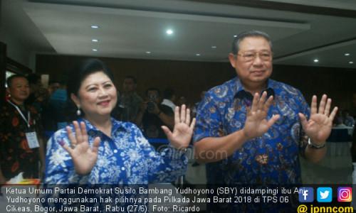 SBY Gunakan Hak Pilih