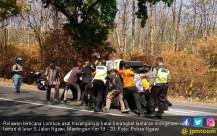 Kecelakaan, Relawan untuk Lombok Batal Berangkat - JPNN.COM