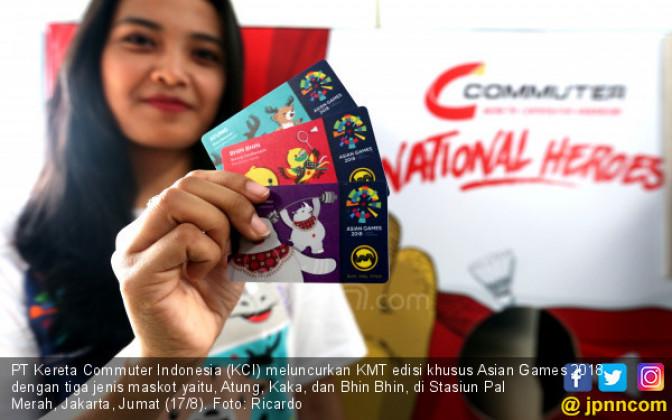Peluncuran Kartu Multi Trip (KMT) edisi khusus Asian Games 2018 - JPNN.COM