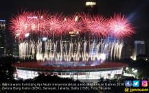 Kembang Api Asian Games 2018 - JPNN.COM