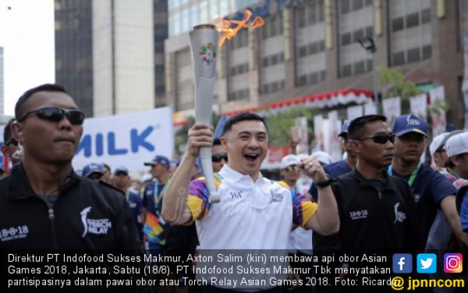 Indofood Turut Semarakkan Pawai Obor Asian Games 2018 - JPNN.COM