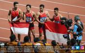 Tim Lari Estafet Indonesia Raih Perak - JPNN.COM