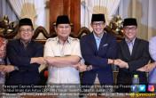 Prabowo - Sandi Gelar Konpers - JPNN.COM