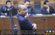 Syafruddin Arsyad Temenggung Jalani Sidang Pledoi - JPNN.COM