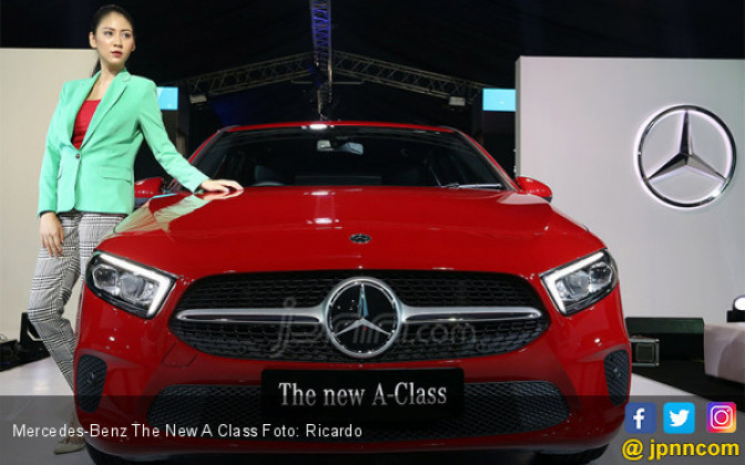Mercedes-Benz The New A Class - JPNN.COM