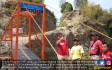 Jembatan Gantung CSR Bahana TCW Mudahkan Aktivitas 5 Desa Kaki Gunung Merapi - JPNN.COM