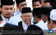 KH Ma'ruf Amin Kunjungi Bangkalan - JPNN.COM