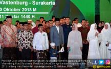 Jokowi Hadiri Apel Akbar Santri Nusantara - JPNN.COM