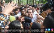 Warga Palembang Histeris Sambut Presiden Jokowi - JPNN.COM