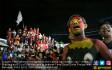 Suporter PSM Makassar Gelar Nobar - JPNN.COM