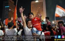 Persija Jakarta Juara, The Jak Berpesta - JPNN.COM