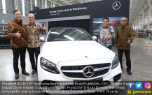 Peluncuran Mercedes Benz The new C-Class - JPNN.COM