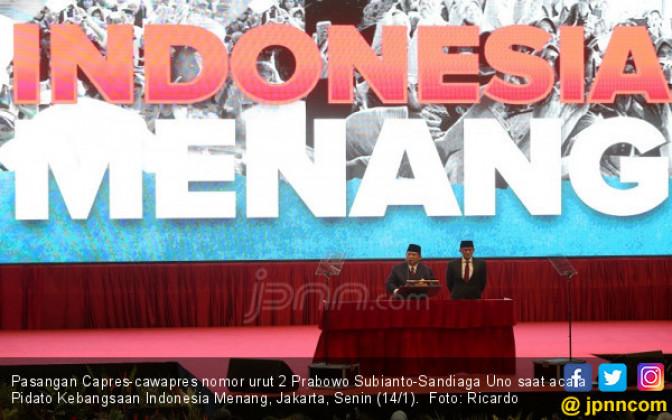 Pidato Kebangsaan Prabowo Subianto - JPNN.COM