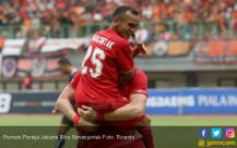 Pemain Persija Jakarta Riko Simanjuntak - JPNN.COM