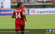 Pemain Persija Jakarta Ismed Sofyan - JPNN.COM