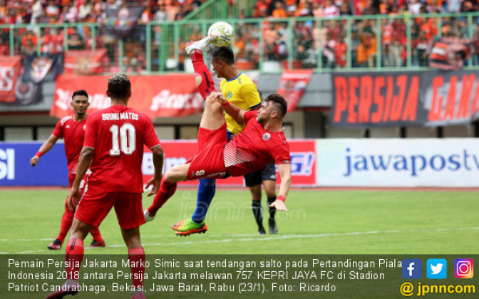 Persija Gundulin 757 KEPRI JAYA FC Dengan Skor 8-2 - JPNN.COM
