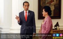 Presiden Joko Widodo dan Ibu Negara Iriana Joko Widodo - JPNN.COM