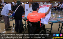 Penyandang Disabilitas Ikuti Simulasi Pemilu - JPNN.COM