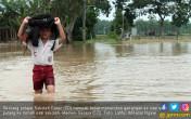 Sejumlah Titik di Madiun Tergenang Banjir - JPNN.COM