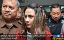 Vanessa Angel Jalani Sidang Prostitusi Online - JPNN.COM