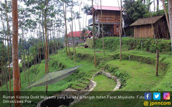 Wow, Dodit Miliki Rumah di Tengah Hutan - JPNN.COM