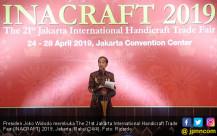 Presiden Jokowi Buka INACRAFT 2019 - JPNN.COM