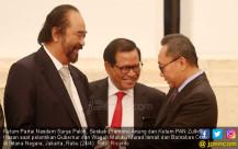 Surya Paloh, Pramono Anung dan Zulkifli Hasan - JPNN.COM