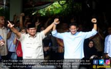 Prabowo-Sandi Tolak Hasil KPU - JPNN.COM
