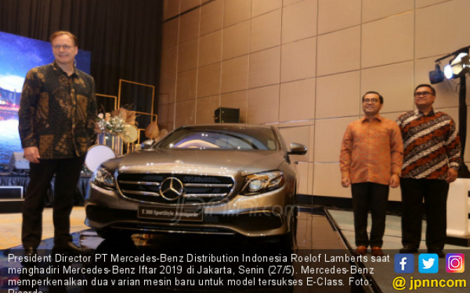 Mercedes-Benz Luncurkan Dua Varian Mesin Baru E-Class - JPNN.COM