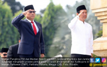Mantan Panglima TNI dan Mantan Kapolri Era SBY Hadiri Pemakaman Ani Yudhoyono - JPNN.COM
