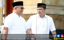 Ketua KPU dan Mantan Menpora era SBY Hadiri Pemakaman Almarhumah Ani Yudhoyono - JPNN.COM