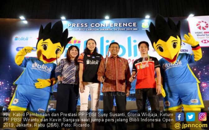 Blibli Indonesia Open 2019 - JPNN.COM