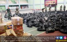 Korem 064/MY Kirim Bantuan Bagi Korban Tsunami - JPNN.COM