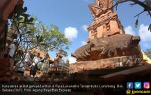Gempa, Pura Lokanatha Porak Poranda - JPNN.COM
