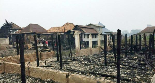 Kebakaran Hanguskan Rumah Orang Tua Jenderal Tito - JPNN.com