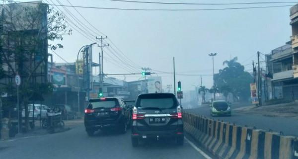 Kabut Asap Masih Selimuti Kota Jambi - JPNN.com