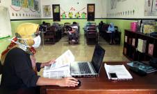Uji Coba Proses Pembelajaran Secara Tatap Muka di Masa Pandemi - JPNN.com