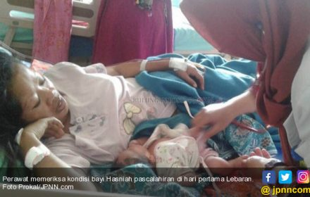 Meleset dari Perkiraan Dokter, Lahir Saat Takbir Idulfitri Menggema - JPNN.COM