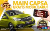 Emblem Festival Untuk Pencinta Game Capsa Susun, Berhadiah Mobil - JPNN.COM