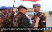 HEBAT! 200 Prajurit TNI Terima Penghargaan PBB di Afrika Tengah - JPNN.COM