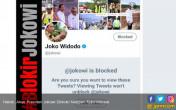 Heboh, Akun Presiden Jokowi Diblokir Netizen - JPNN.COM