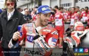 Marquez Jatuh di FP2 MotoGP Valencia, Ini Komentar Lucu Dovi - JPNN.COM