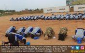 Usai Apel, Pasukan Garuda Indobatt-03 Sujud Syukur di Sudan - JPNN.COM