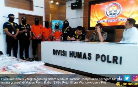 Polisi Curigai Pentolan Saracen Alami Gangguan Jiwa - JPNN.COM