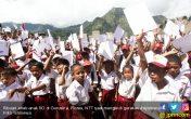 Ribuan Anak SD di Flores Bersemangat Ikut Menulis Surat untuk Presiden - JPNN.COM