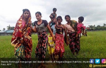 Perempuan Rohingya Diperkosa Tentara secara Brutal - JPNN.COM